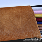 China outlet glitter unique design leather raw material for shoe making