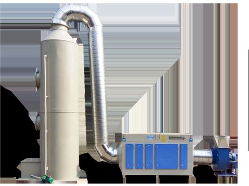 有机肥厂除臭系统(环保型)