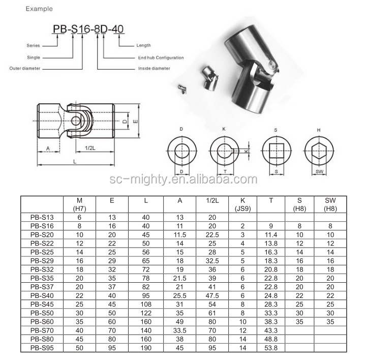 spicer universal joints universal cross joint coupling