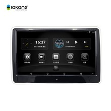 New Arrival IOKONE 10.6inch IPS android 6.0 touchscreen monitor for audi a6 headrest monitor