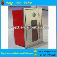 Embedded type stainless steel fire extinguisher cabinet/fire hose reel cabinet