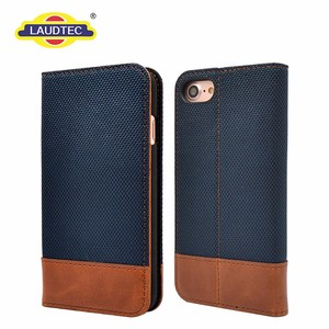 2017 Jean Leather Flip Wallet Phone Case For iPhone6, Mobile Phone Case For iphone6 Case Cover