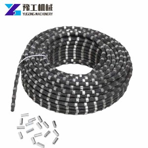 Model YG 22 YG 25 Marble Granite Stone Quarry Cutting concrete wire saw machine Hydraulic Diamond Wire Saw With factory price