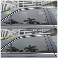 PDLC Ultra-thin 0.12mm Black smart tint film for car window