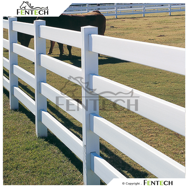 White Popular High Quanlity Strong Plastic Pole For Fence