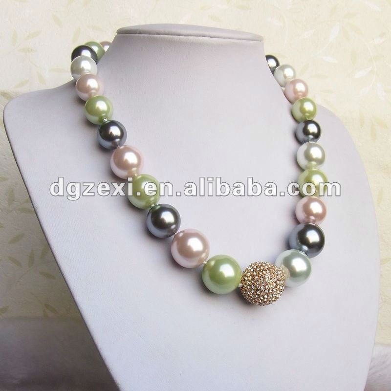 9e7deaf94975 Color Multi De Lujo Perla Mujeres Collar - Buy Fantasía