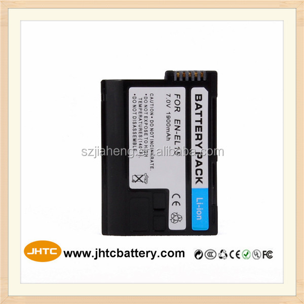 ENEL15 EN-EL15 Rechargeable Digital camera li-ion battery for NIKON D800E D300 V1