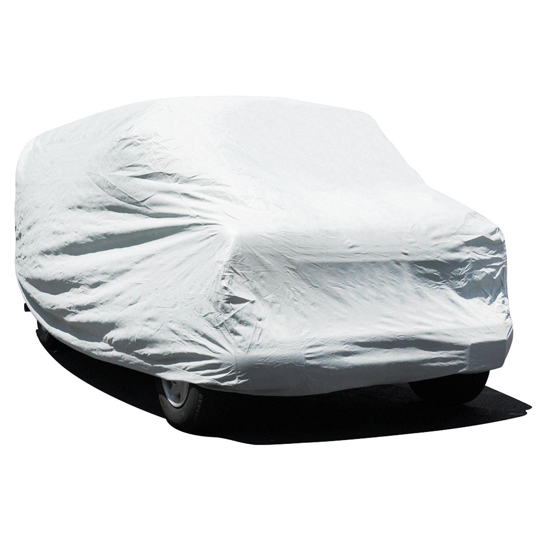 Budge Premier Tyvek Van Cover Fits Full Size Vans up to 19 feet 7 inches, VD-3 - (Tyvek, White)