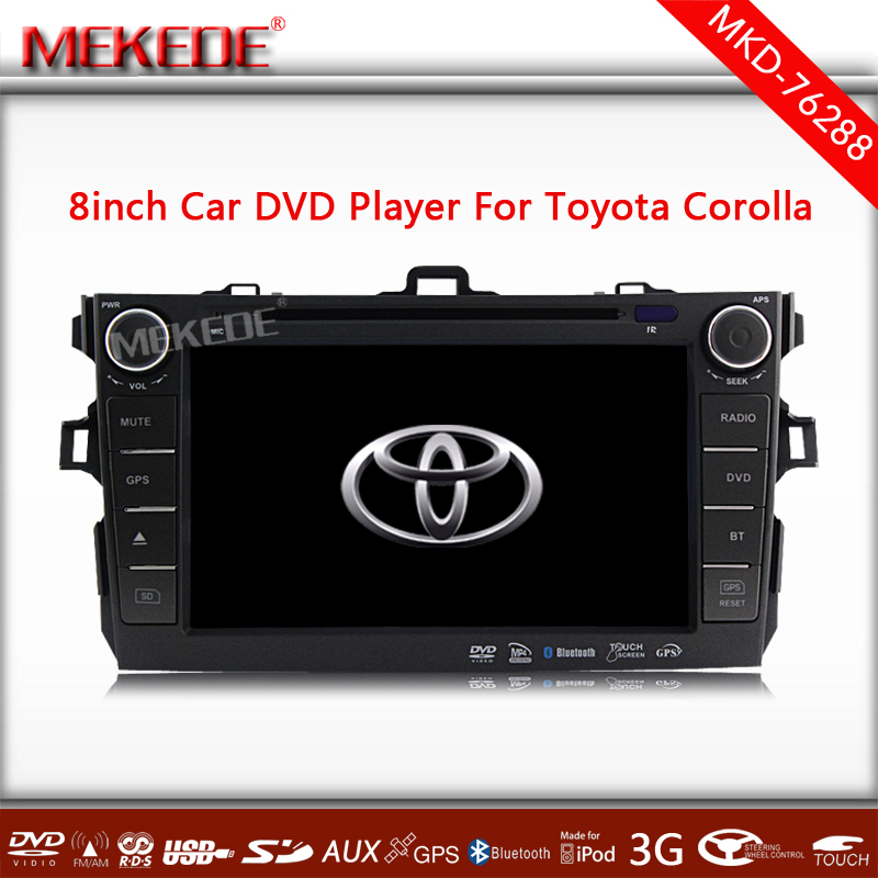 Special Car DVD for <strong>Toyota</strong> <strong>Corolla</strong> 2007 2008 2009 2010 2011 with GPS+<strong>TV</strong>+IPOD+Bluetooth+Radio+4GB CARD Free map