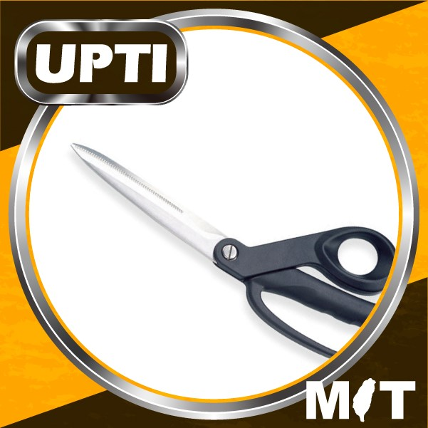 "Taiwan Made High Quality Professional Stainless Steel 9-3/4"" Heavy Duty Shears Heavy Duty Utility Scissors (Small Bow)"