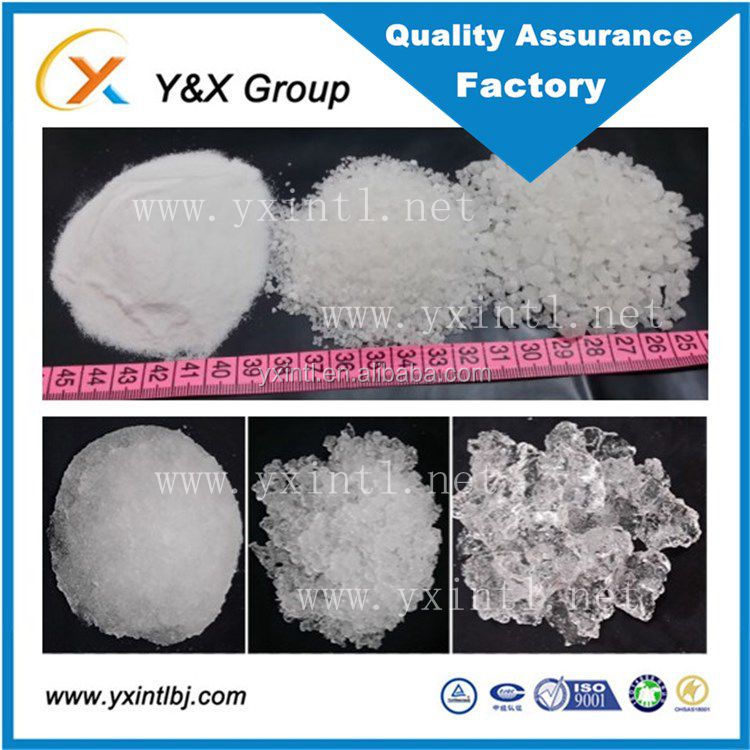 China manufacturer supply potassium polyacrylate sap super hydro absorbent polymers