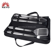 Barbeque Accessories stainless steel non stick Bbq Tool Set 4 Piece barbecue tools set