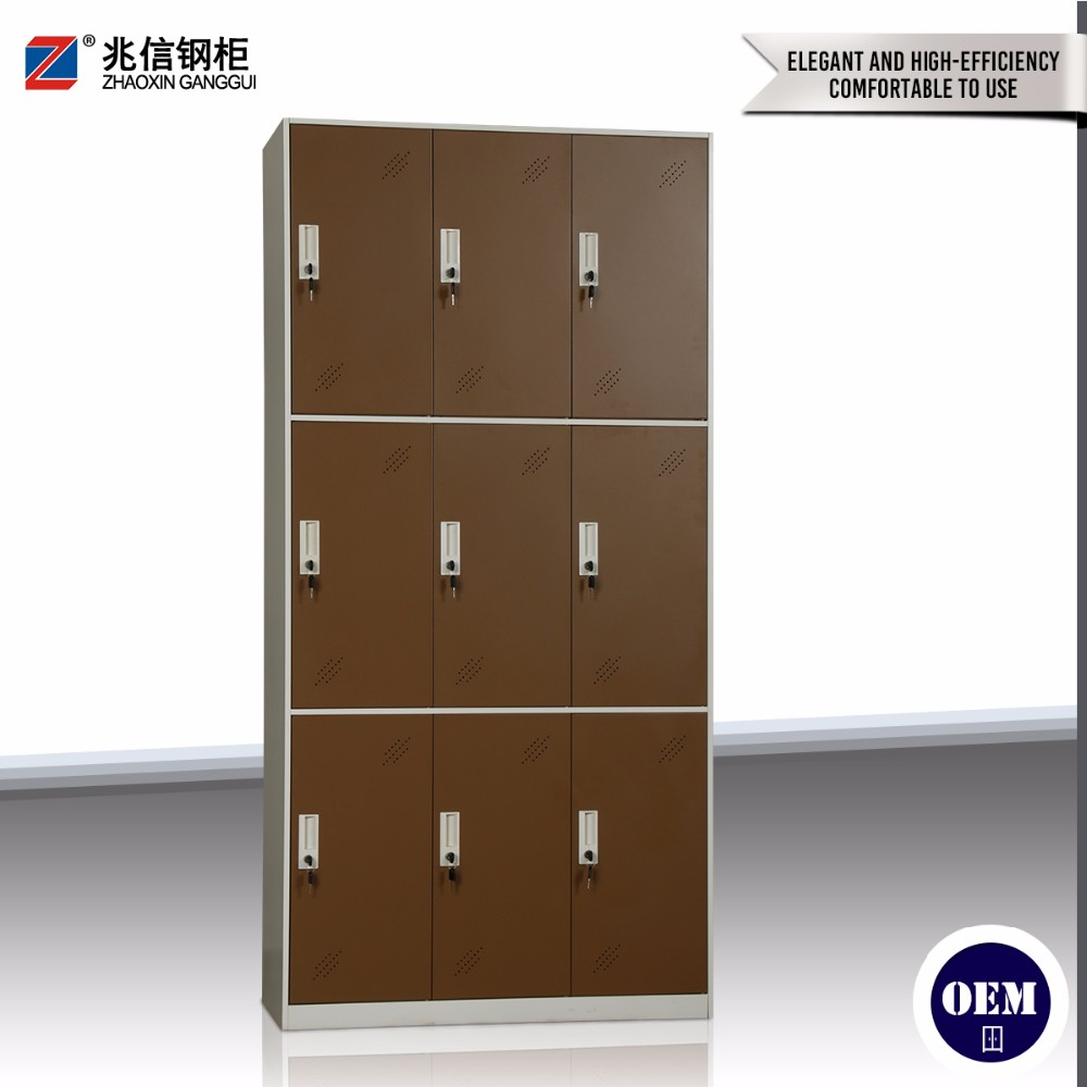 easy assemblemetal almirah strong metal clothes storagel wardrobe eco-friendly stainless office furniture
