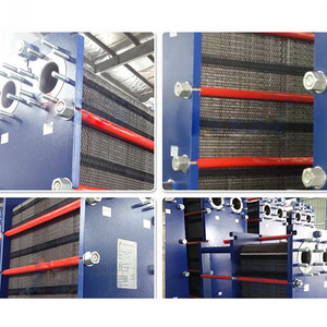 fin type cryogenic nickel plate heat exchanger brewing cube 250kw manufacturer for fireplace