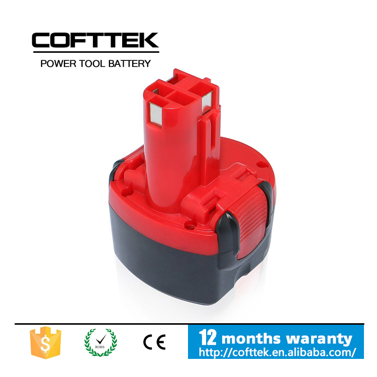 FOR BOSCH 9.6 V POWER TOOL BATTERY REPLACEMENT 3000MAH NIMH BATTERIES