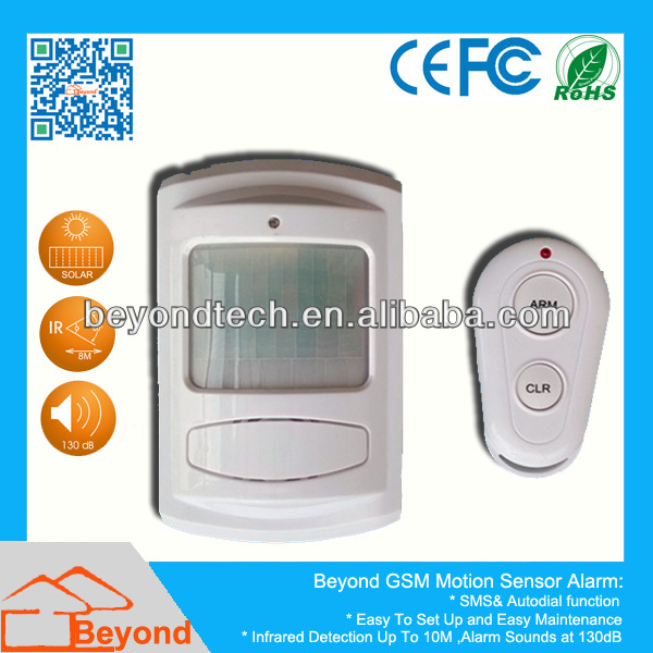 <strong>GSM</strong> SMS PIR Motion Detector Alarm with Auto Dial and SMS Function