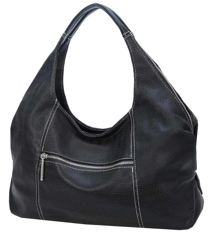 78a7d67a5b8b 2018 Hot Sell Women PU Faux Leather Shoulder Handbag Designer Ladies Purses  Hobo Fashion Bag Large Capacity Tote Purse Wholesale