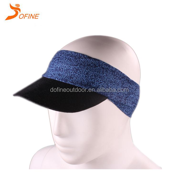 0413718e058291 Custom High Quality Sun Visor Cap Wholesale Embroidery Sun Visor Hat ...