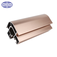 professional manufacture industrial aluminium extrusion profile for lift