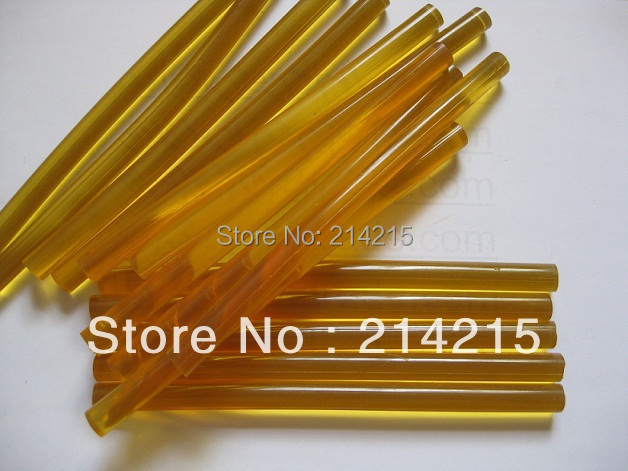 12 шт. компактный кератина клей палочка для слияния человеческий волос расширение инструмент, Бывшее в использовании с клей пистолет или плавления клей горшок