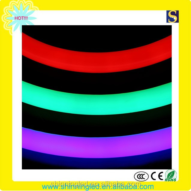 IP65 waterproof 110V/220V warm white ledmini led neon flex decoration