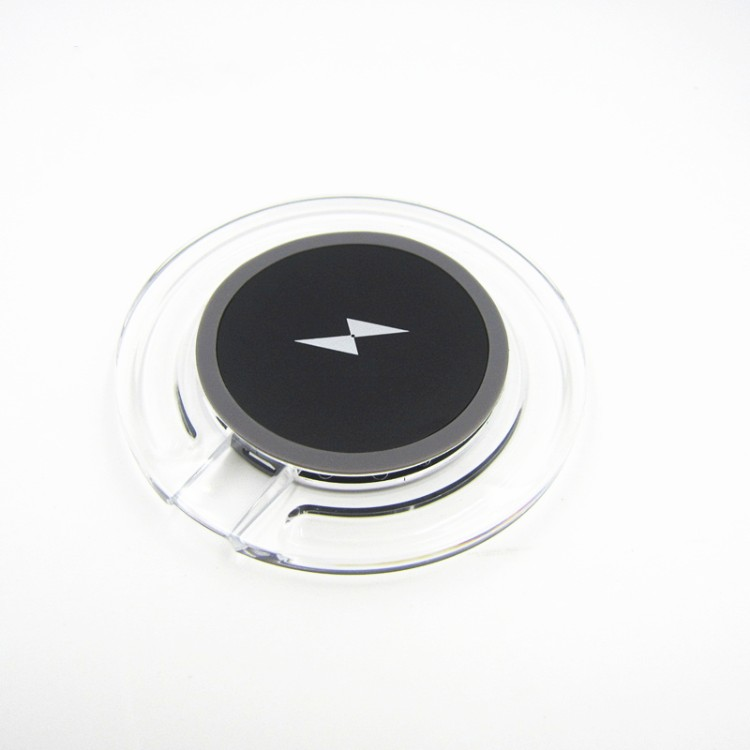 Qi Wireless Charger Wireless Charging Pad Portable Wireless Phone USB Charger for iPhone 8 8Plus Samsung Galaxy S7 S6
