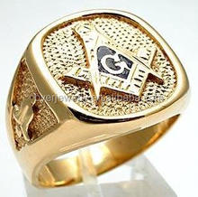 brass casting jewelry molds square signet masonic ring