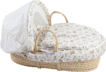 wholesale cheap price corn husk baby sleeping bakset moses. Black Bedroom Furniture Sets. Home Design Ideas