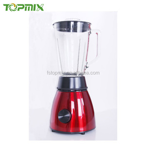 Competitive cost 1.5L glass jar metal home blender