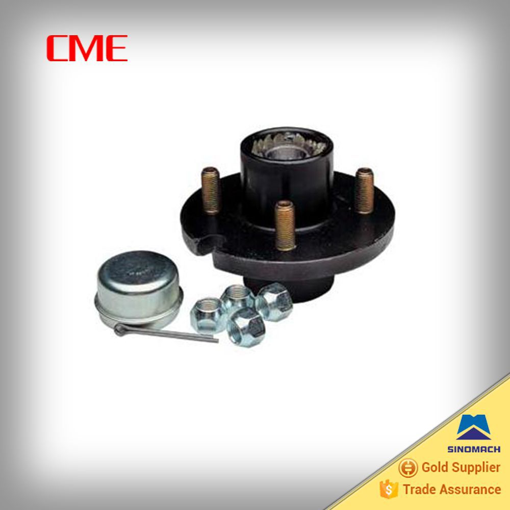 Axle hub, idler hub for travel trailer, boat trailer