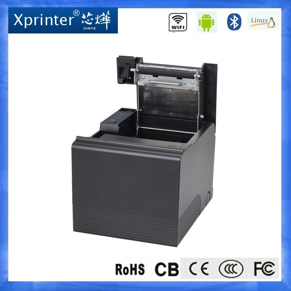 thermal receipt printer USB Lan Serial 3in1 interface bill auto-cutter printer kiosk mini tehrmal pos terminal with PDA Gpritne