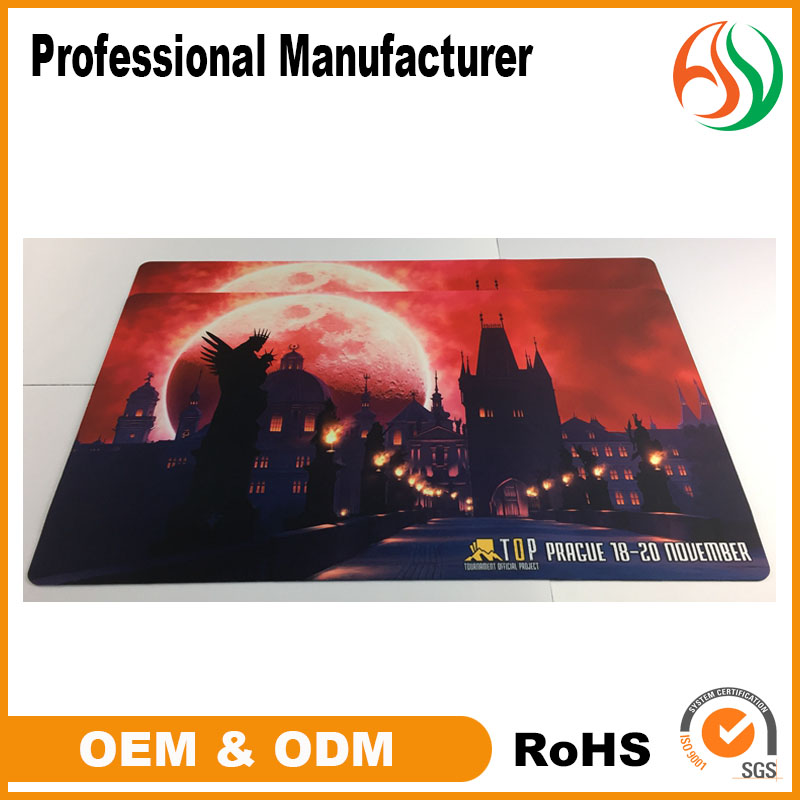 AY Best Quality Rubber Mousepad For Internet Gaming,Heat Printed Neoprene Mats,Custom Gaming Mat