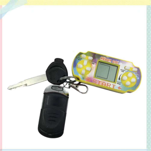 Hot sale MINI keychain manufacturer handheld retro pvp games console