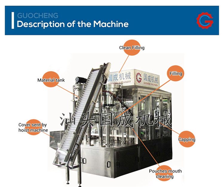 Emzik kese otomatik su dolum makineleri