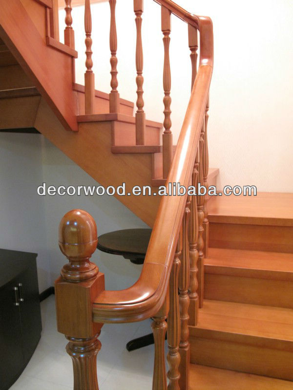 Solid Wood Handrails Round Staircase, Solid Wood Handrails Round Staircase  Suppliers And Manufacturers At Alibaba.com