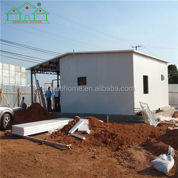 Low cost and fast install light steel house for sale