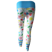 2018 new design sexy custom supplex yoga leggings for women