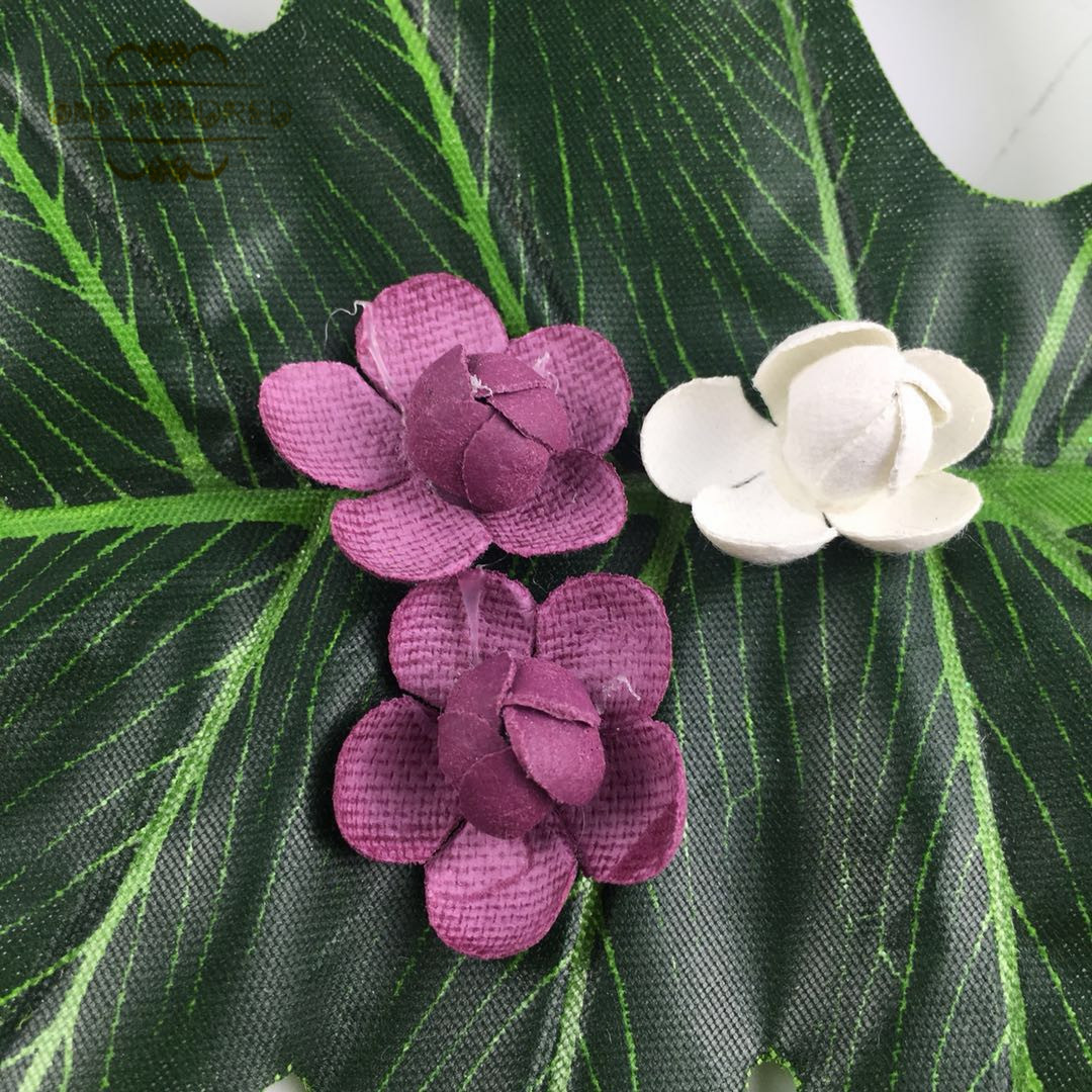 Factory price wholesale new style colorful felt flowers for home and party decoration