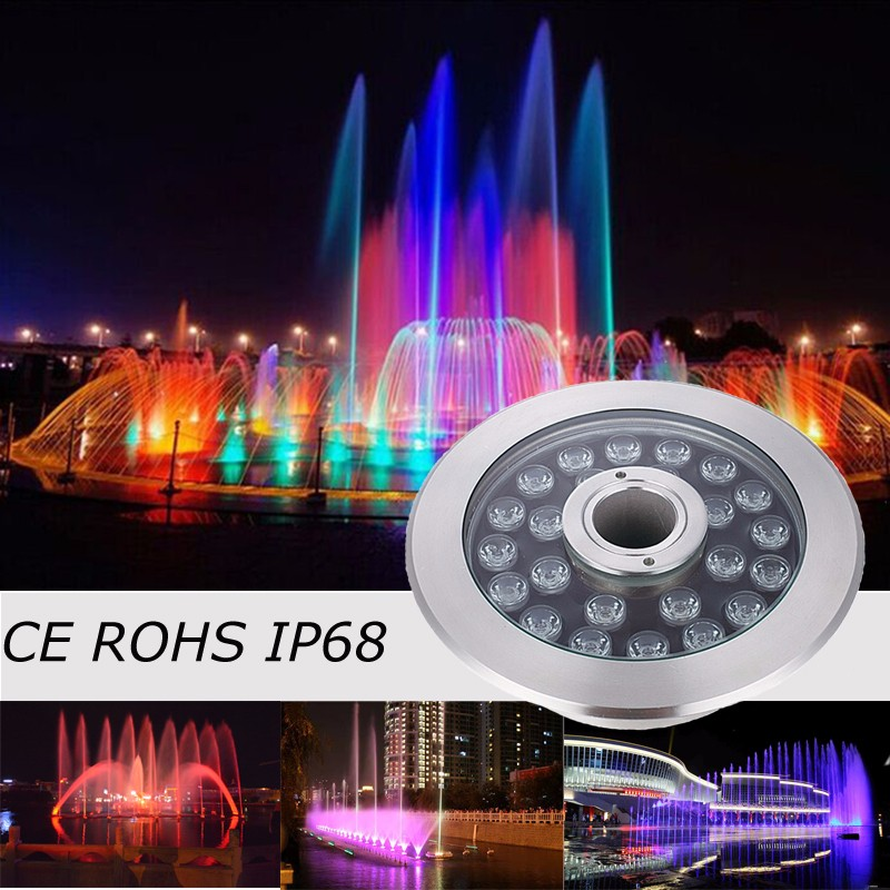 Low Voltage Led Surface Mounted Rgb Pool Underwater Lights For Swimming Pool And Pond Buy Led