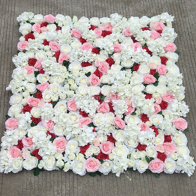 hot sale photography background long wedding flower panel
