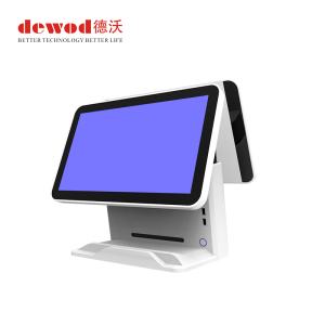 Dewod double Touch screen 15.6 inch Windows/Android POS system