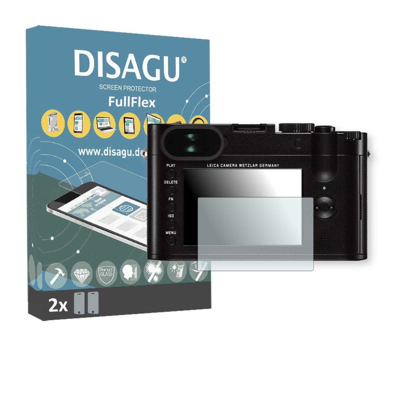 2 x Disagu FullFlex screen protector for Leica Q foil screen protector