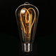 2018 Beautiful amber vintage edison bulb dimmable flexible soft filament 4w st64 led bulb light