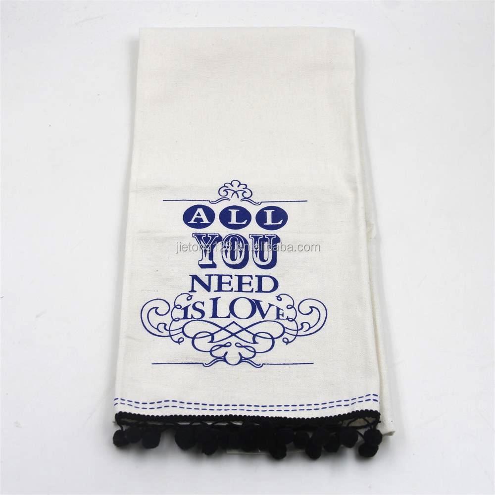 โรงงานราคาถูกฝ้าย 100% ผ้าลินินผ้าฝ้ายหนาชาผ้าเช็ดตัวผ้ากันเปื้อน
