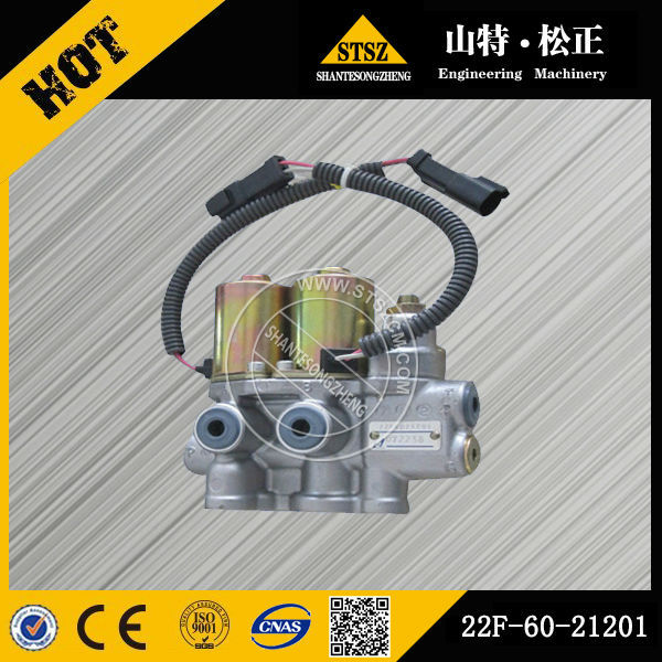 Pc200-8 Valve Dk131110-8020 Hydrualic Joystick Control Valve 6D102E engine excavator genuine parts pc200-6 valve