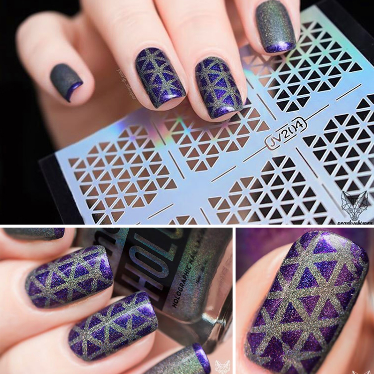 Nail Stencil For Art Product On Alibaba