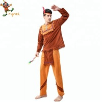 PGMC0139 Mens Native American Indian Warrior Fancy Dress costumes