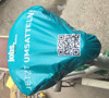 PVC printed bike seat cover with elastic/Promotional bike saddle covers