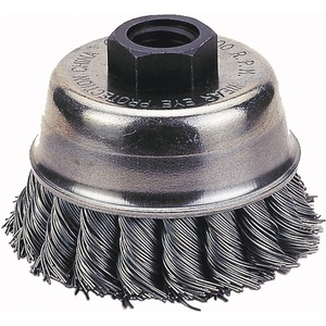 Mini Cup Brush with steel Twisted wire