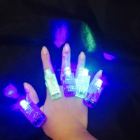Hot Promotional Novelty Gifts Glow Finger Light,led Novelty Lights Toy